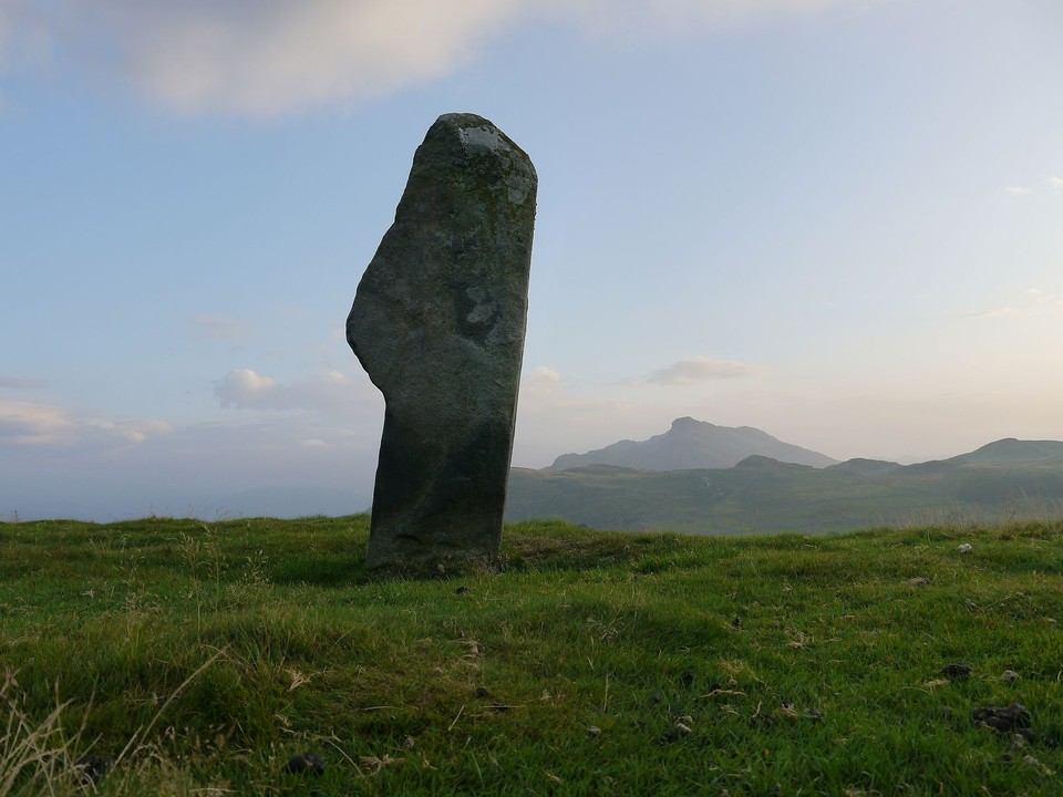 Waen Bant (Standing Stone / Menhir) by Meic