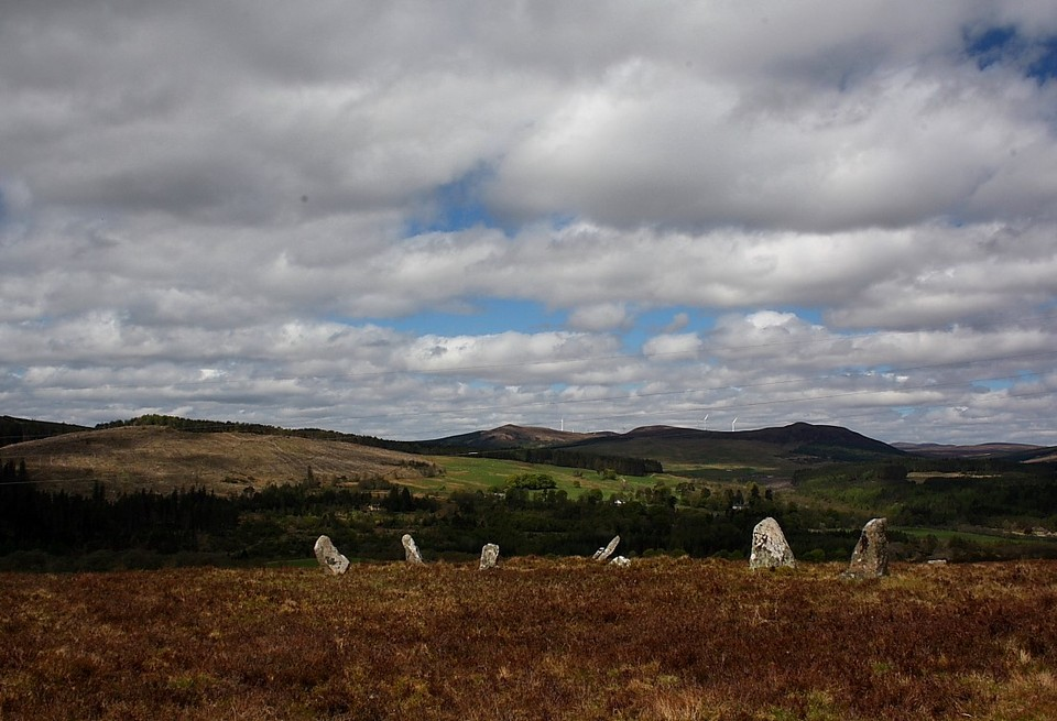 Achinduich (Stone Circle) by GLADMAN