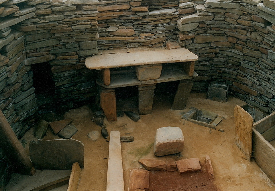 Skara Brae (Ancient Village / Settlement / Misc. Earthwork) by GLADMAN