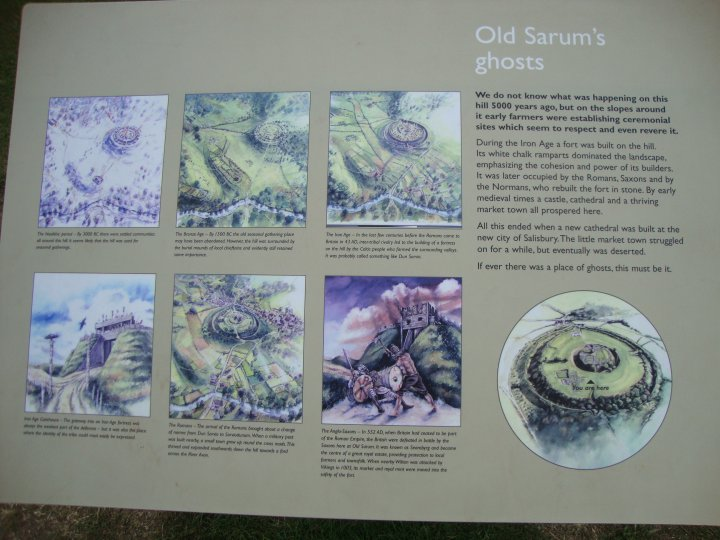 Old Sarum (Hillfort) by Chance